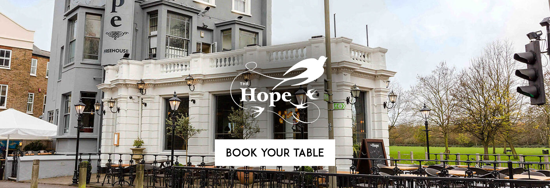 Book Your Table at The Hope